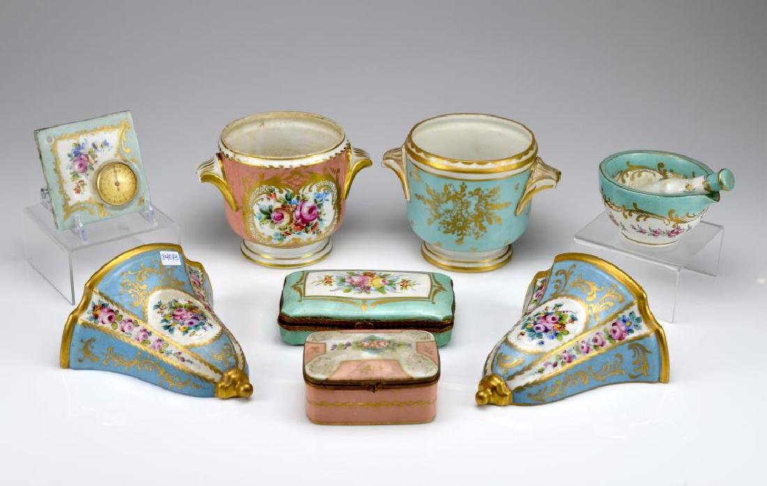 Lot of Limoges porcelain