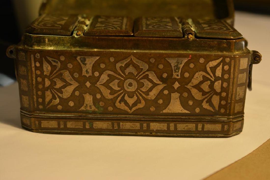 Southeast Asian damascene betel nut box - 6