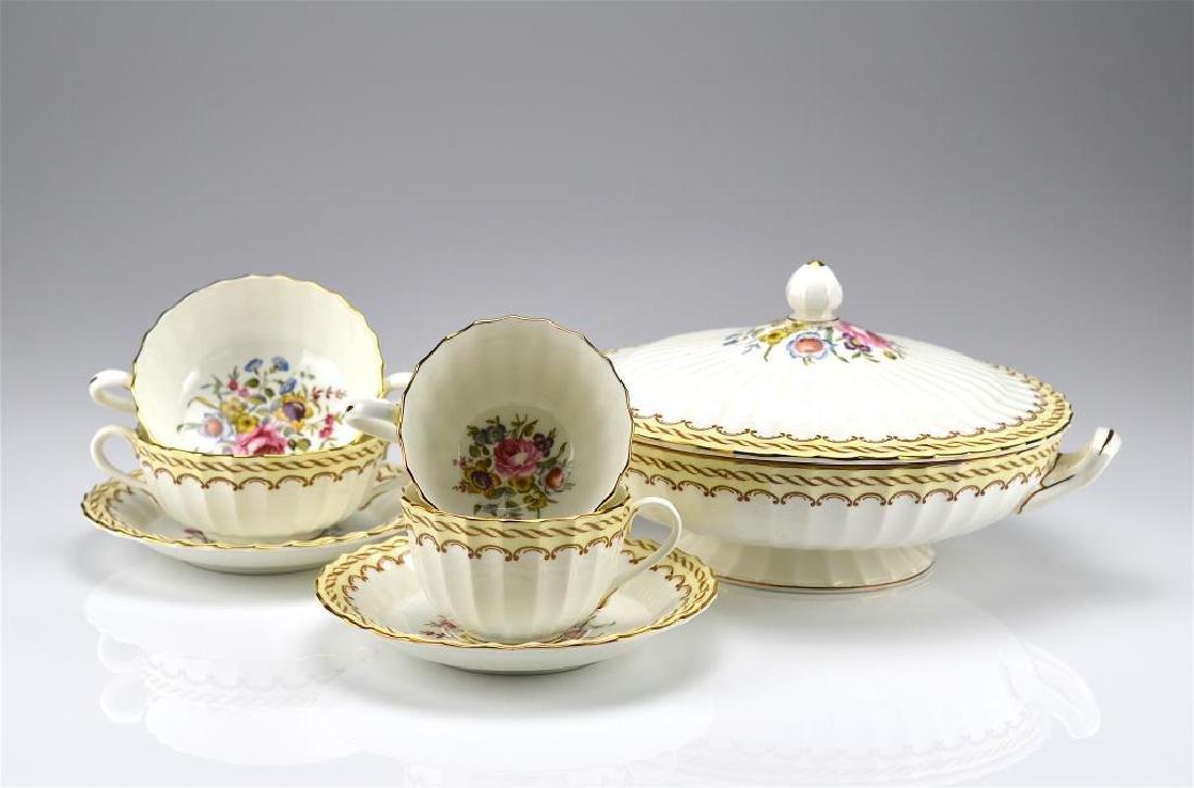 Lot of Royal Worcester Kempsey porcelain