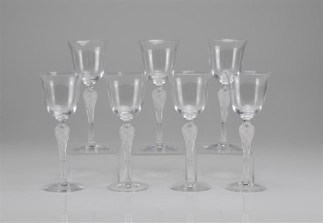 Ten Faberge Pavlova wine glasses