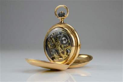 French gold Minute Repeater Chronometer