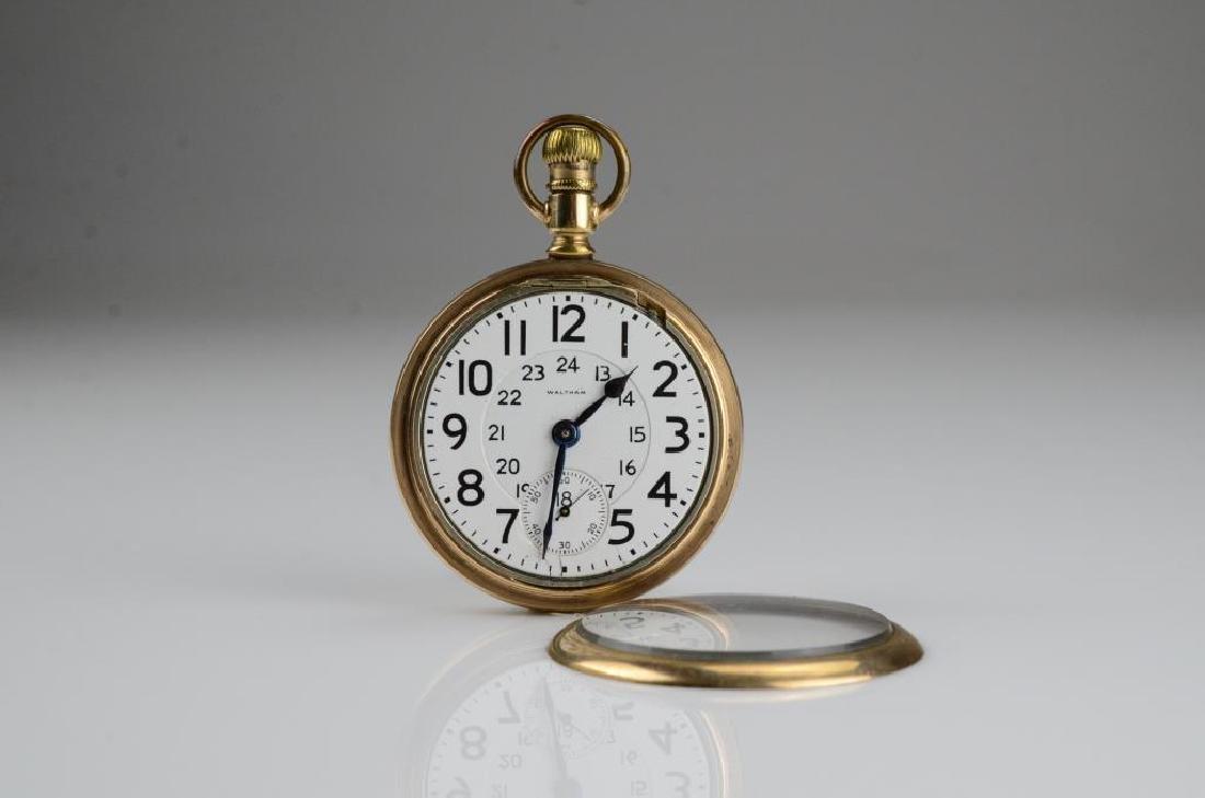 Canadian railroad certified Waltham pocket watch