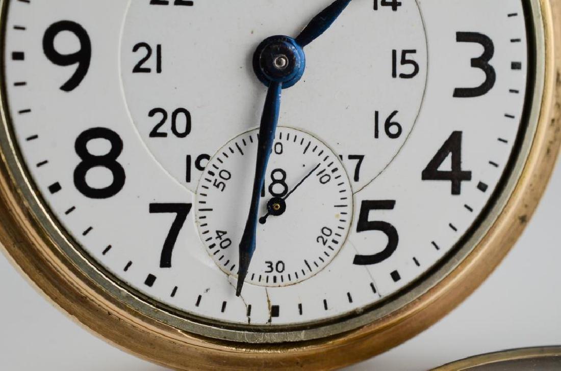 Canadian railroad certified Waltham pocket watch - 2