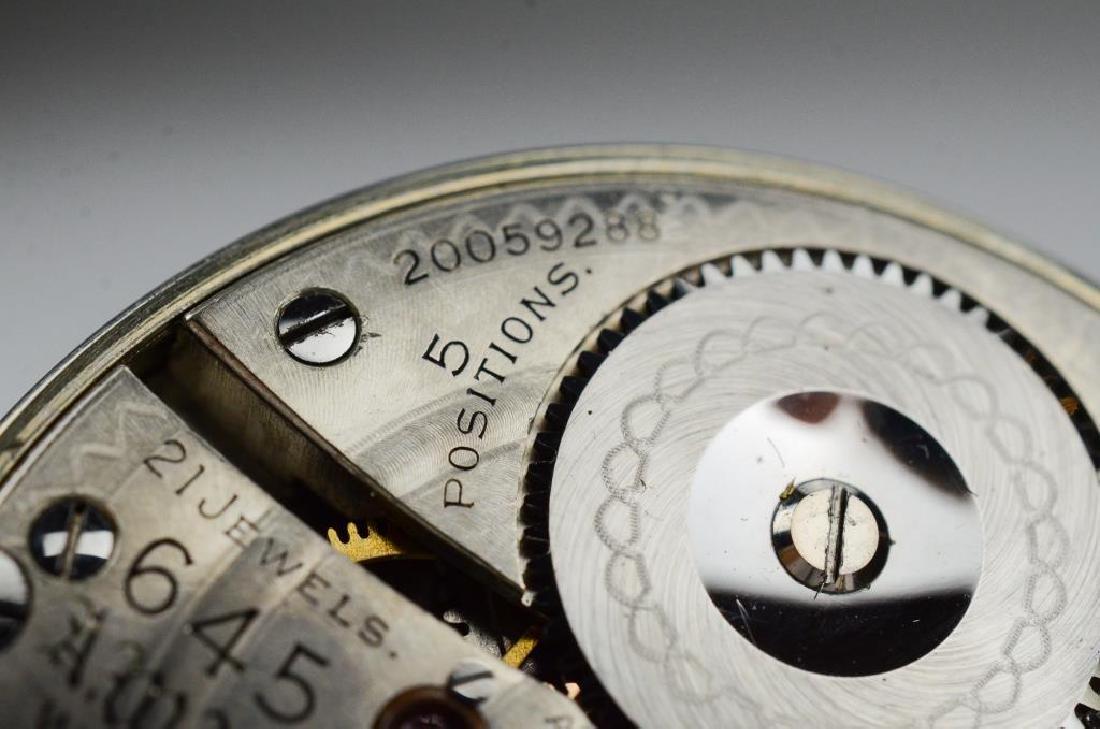 Canadian railroad certified Waltham pocket watch - 6