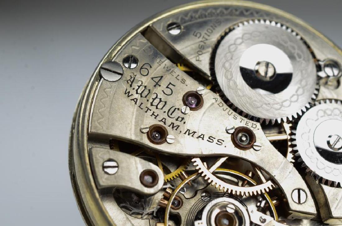 Canadian railroad certified Waltham pocket watch - 7