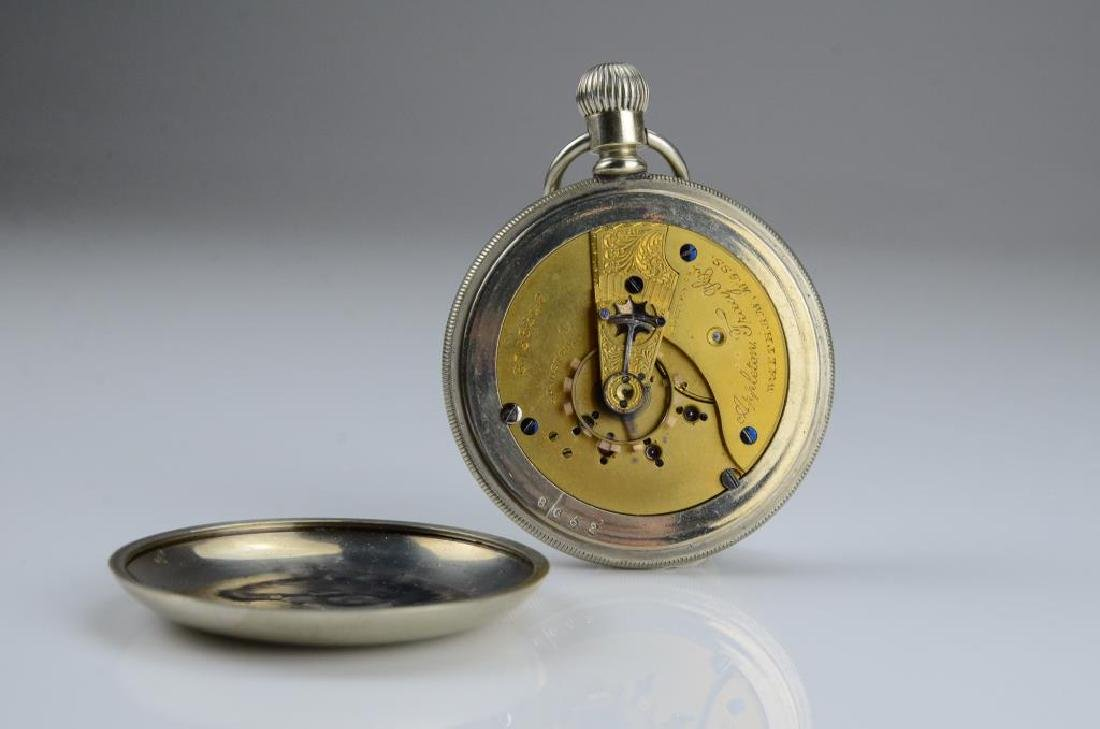 Waltham railroad pocket watch - 10
