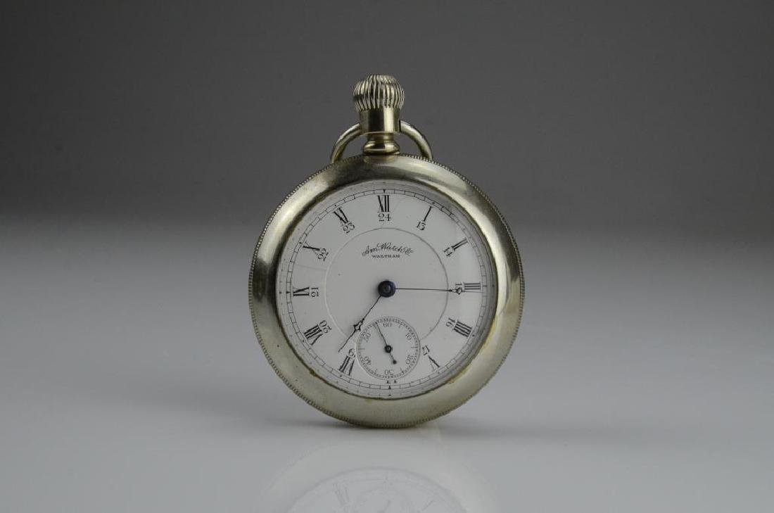 Waltham railroad pocket watch