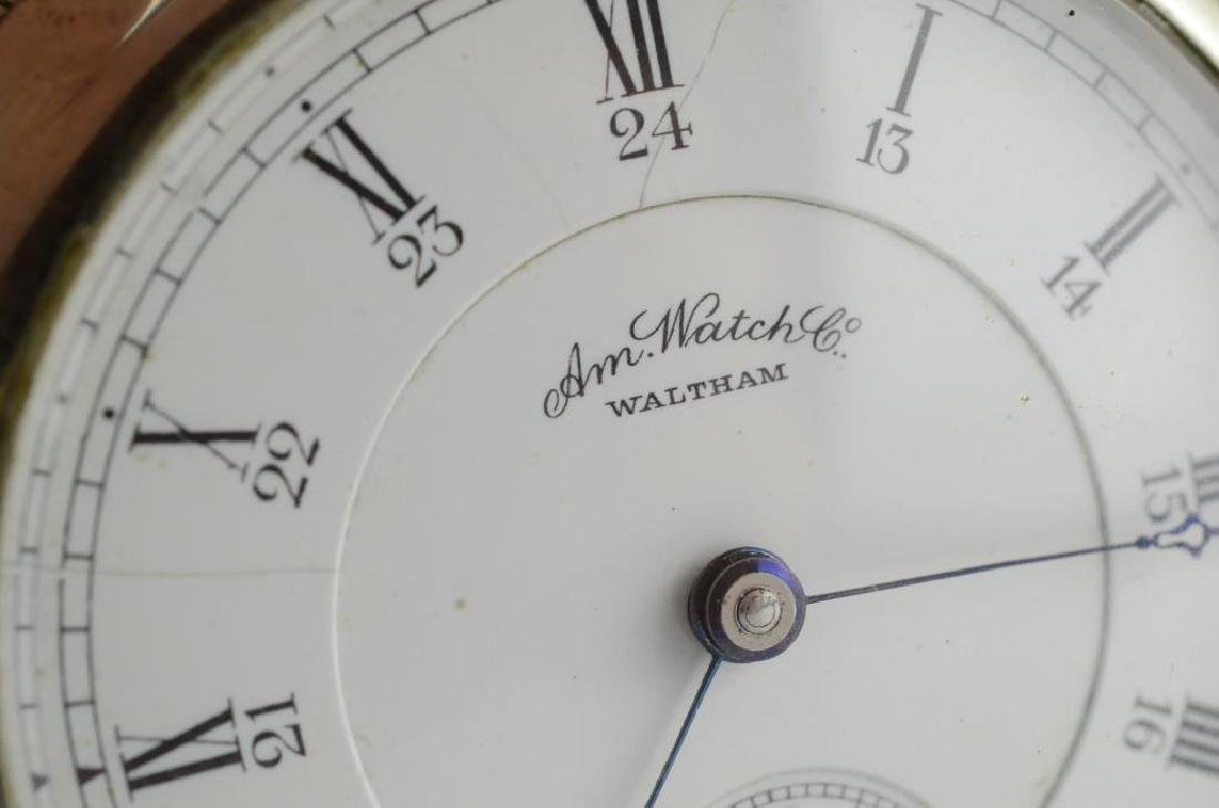 Waltham railroad pocket watch - 2