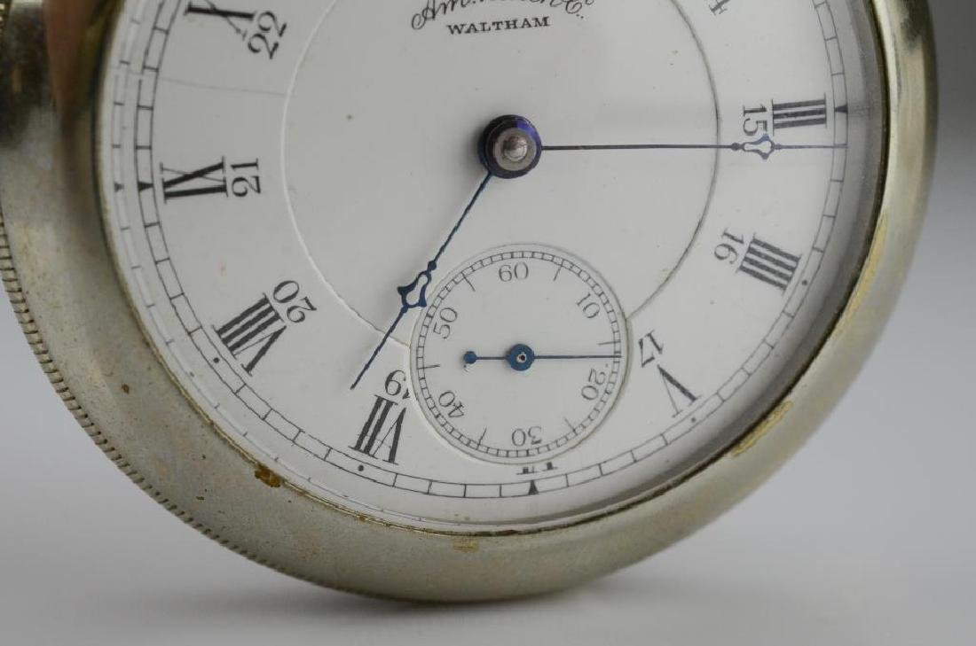 Waltham railroad pocket watch - 3