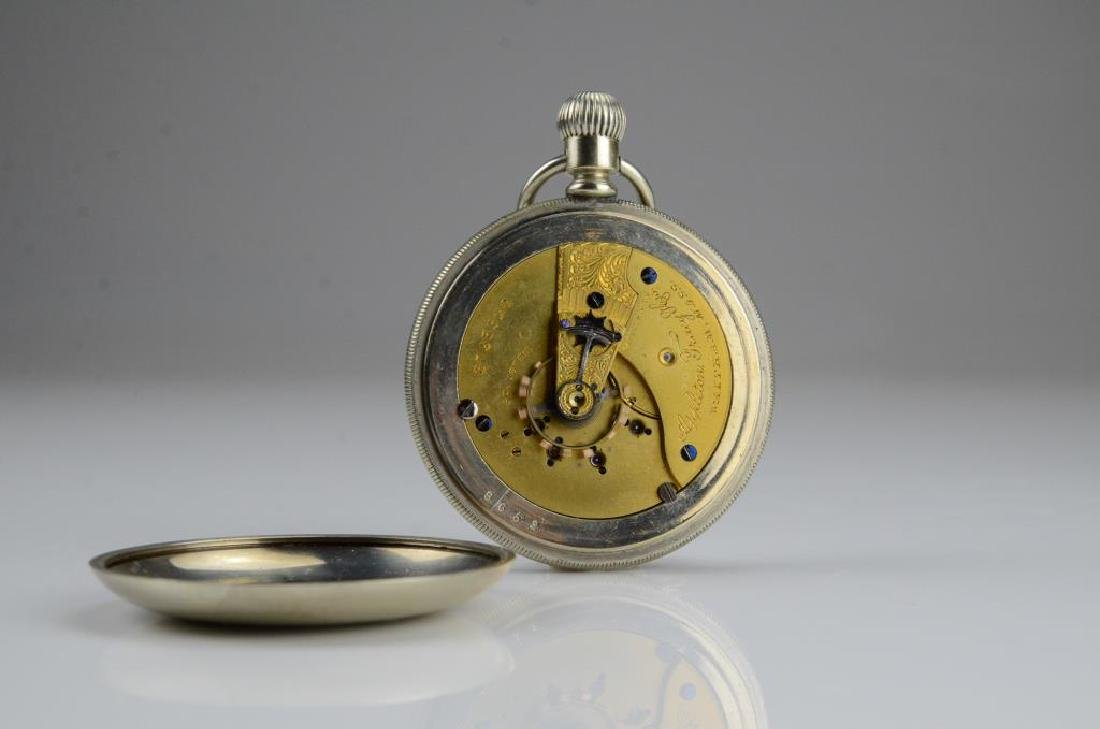 Waltham railroad pocket watch - 7