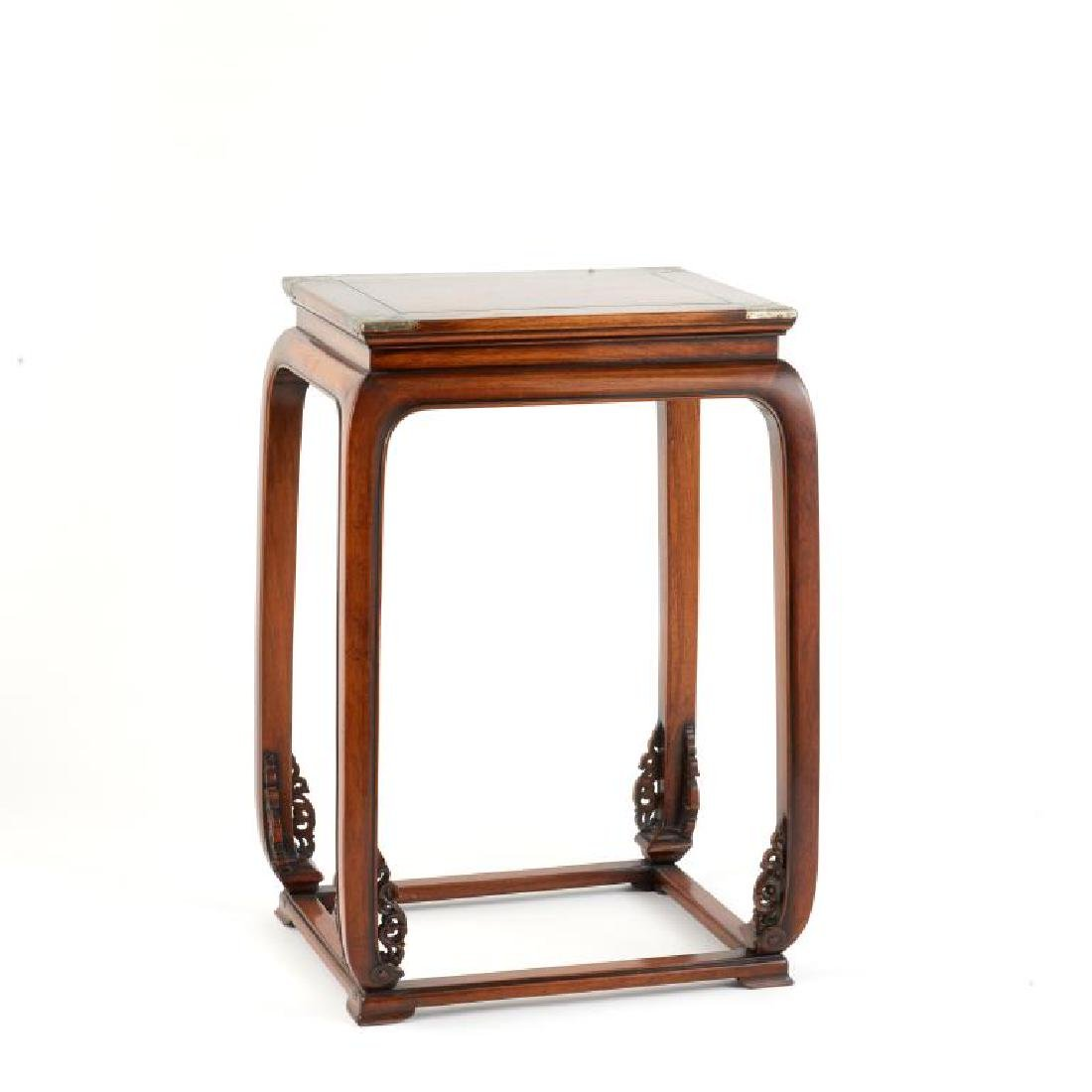 CHINESE HUANGHUALI HARDWOOD SIDE TABLE