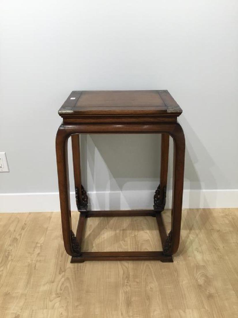 CHINESE HUANGHUALI HARDWOOD SIDE TABLE - 4