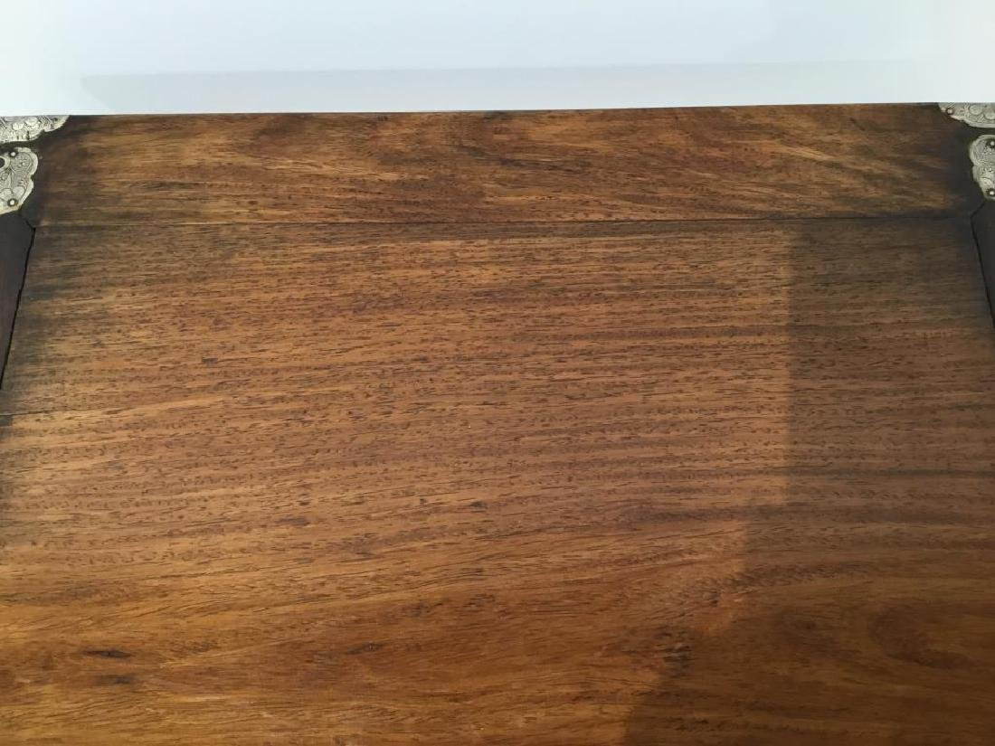 CHINESE HUANGHUALI HARDWOOD SIDE TABLE - 5