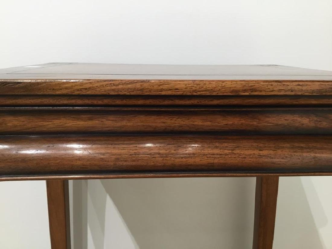 CHINESE HUANGHUALI HARDWOOD SIDE TABLE - 7