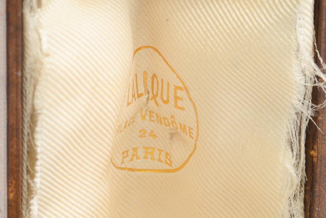 RENE LALIQUE DRAPEE STATUETTE SEAL - 4
