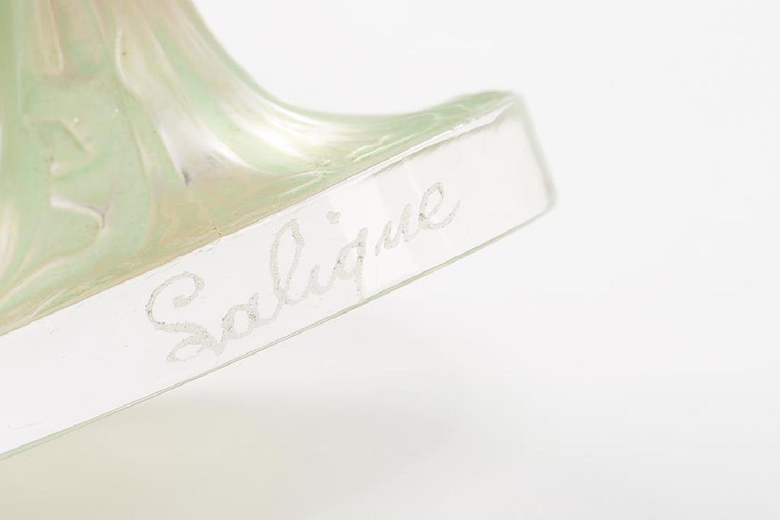 RENE LALIQUE DRAPEE STATUETTE SEAL - 9