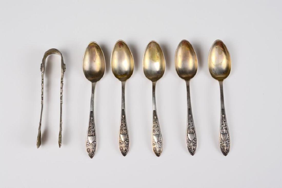 Lot of German silver flatware