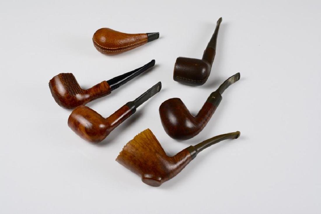 Basket of assorted pipes