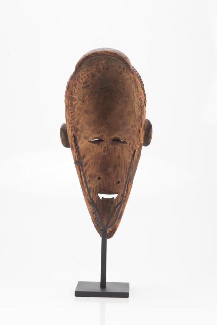 African carved wood tribal mask - 2