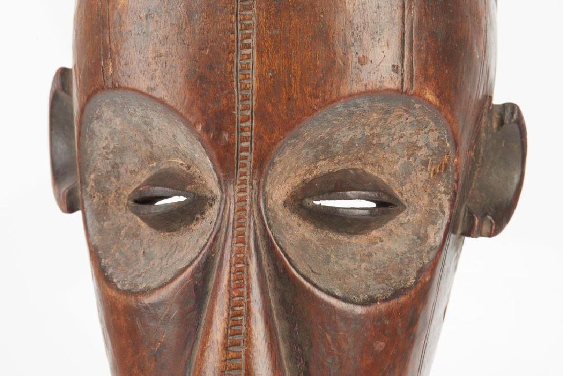 African carved wood tribal mask - 4