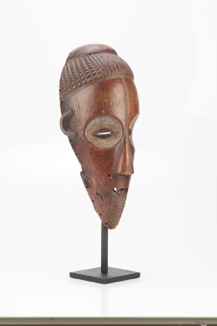 African carved wood tribal mask - 6