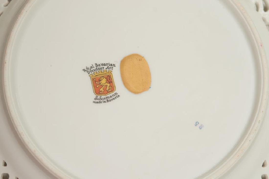 Assorted Dresden German porcelain dinnerware - 7