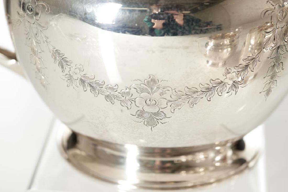 English silver tea and coffee set - 2
