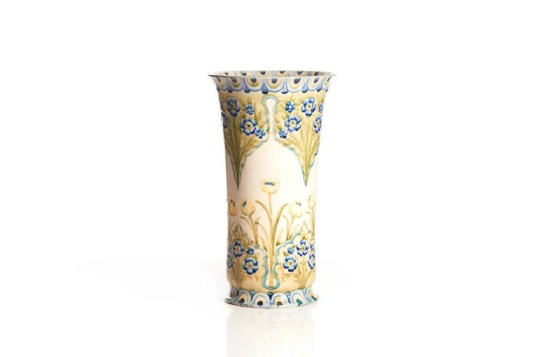 Moorcroft MacIntyre pottery vase