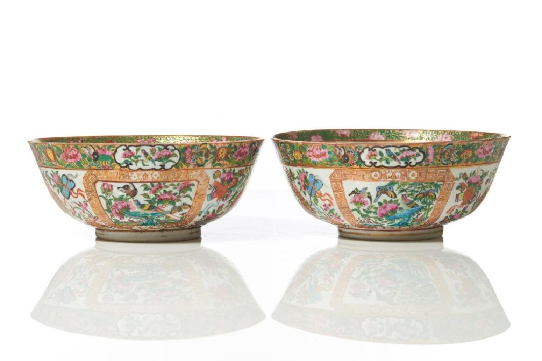 TWO ISLAMIC MARKET CANTON FAMILLE ROSE BOWLS - 6
