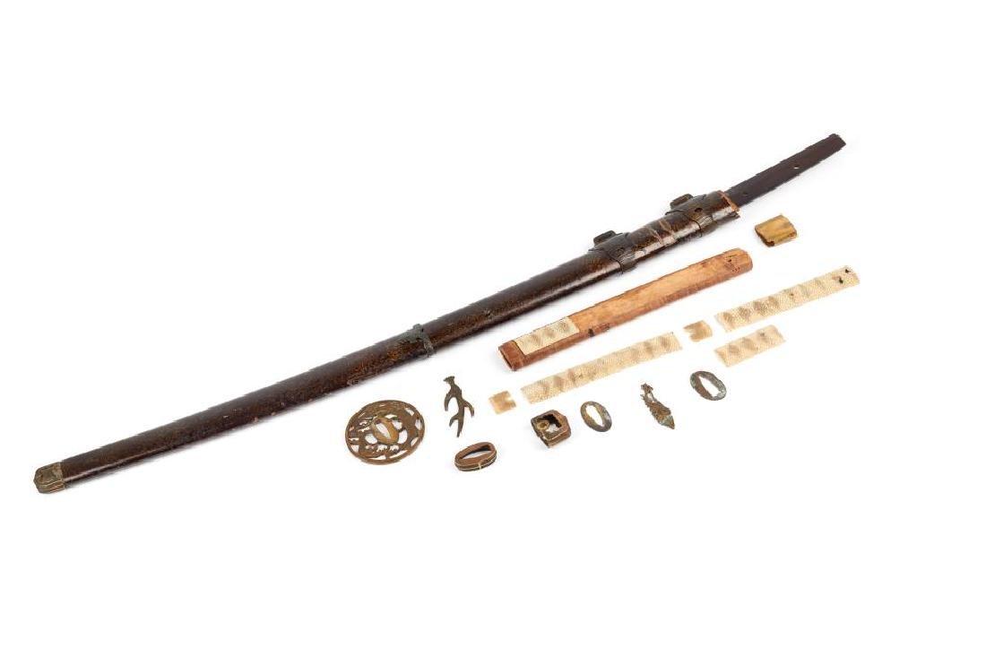 JAPANESE SWORD SIGNED UDA KUNIMUNE