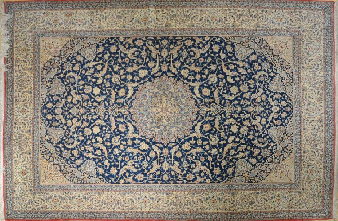 A FINELY KNOTTED PERSIAN TABRIZ RUG