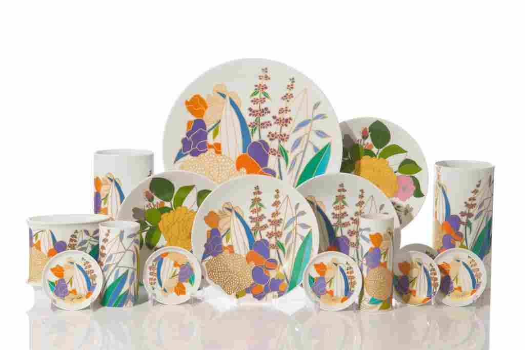 SET OF ROSENTHAL TABLEWARE DESIGNED BY W. BAUER