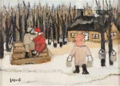 LISE LAJOIE Canadian b 1934