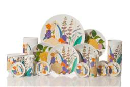 SET OF ROSENTHAL TABLEWARE DESIGNED BY W BAUER