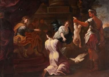 CIRCLE OF GIOVANNI BATTISTA PIAZZETTA  (1682-1754)