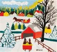 MAUD LEWIS (Canadian, 1903-1970)