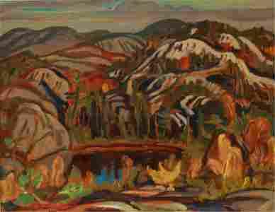 ALEXANDER YOUNG JACKSON (Canadian, 1882-1974)