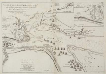 JEFFREYS, THOMAS, ST LAURENCE RIVER, 1760