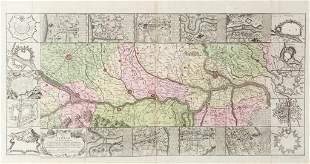 SEUTTER MATTHIAS THEATRUM BELLI 1734