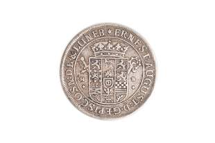 1691 ERNEST AUGUST ELECTOR OF HANOVER COIN