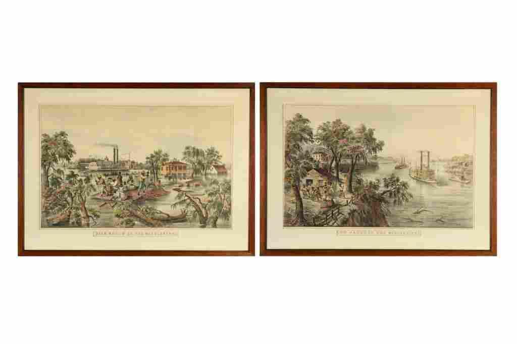 AFTER FRANCES F. PALMER (1812-1876, CURRIER &IVES)