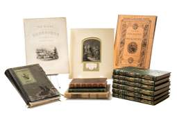 [SHAKESPEARE] 7 works in 12 volumes