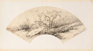 WANG YUN 王雲 (1888-1934), RIVER LANDSCAPE