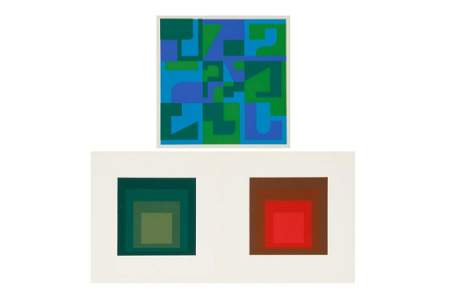JOSEF ALBERS AND NORMAN IVES
