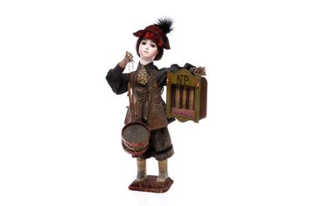 19TH C FRENCH  AUTOMATON DRUMMER