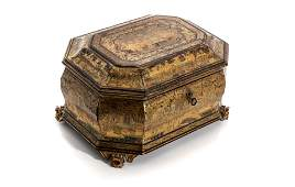 CHINESE EXPORT LACQUER CADDY