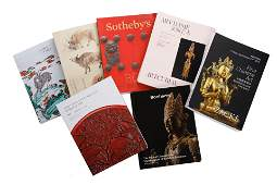 GROUP OF ASIAN ART AUCTION CATALOGUES