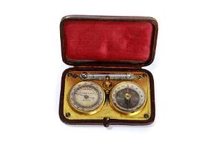 SWISS TRAVELLING COMPASS, THEMOMETER, ALTIMETER