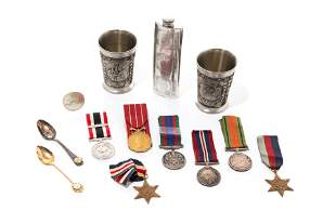 GROUP OF CANADIAN MILITARY MEDALS