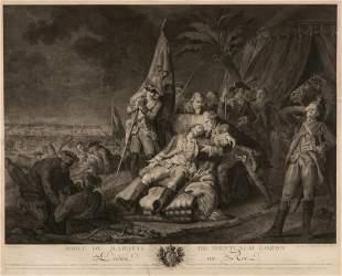 [PRINTS-HISTORIC] DEATH OF MONTCALM